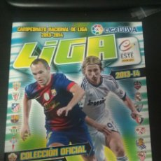 Álbum de fútbol completo: ALBUM LIGA ESTE 2013/2014 CON TODO LO EDITADO . TAMBIÉN MERCADO DE INVIERNO. Lote 173297250