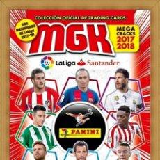 Álbum de fútbol completo: COLECCION COMPLETA MEGACRACKS 2017 2018 LIGA FUTBOL LISTADO INTERIOR. Lote 173560234