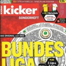 Álbum de fútbol completo: KICKER. - BUNDESLIGA SONDERHEFT 2019/20 - #. Lote 173866853