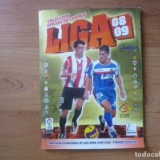 Álbum de fútbol completo: ALBUM LIGA ESTE 08 09 PANINI COMPLETO - 570 CROMOS, COLOCAS - TODOS LOS FICHAJES - FUTBOL 2008 2009. Lote 173941819