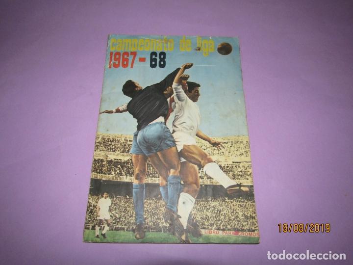 ANTIGUO ÁLBUM CAMPEONATO DE LIGA 1967 68 DE DISGRA FHER COMPLETO (Coleccionismo Deportivo - Álbumes y Cromos de Deportes - Álbumes de Fútbol Completos)
