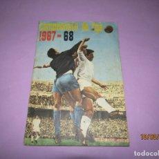 Álbum de fútbol completo: ANTIGUO ÁLBUM CAMPEONATO DE LIGA 1967 68 DE DISGRA FHER COMPLETO. Lote 174083908