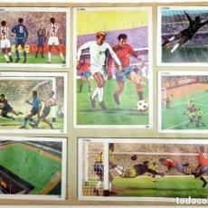 Álbum de fútbol completo: ALBUM 1968 CONTAMOS CONTIGO, DEPORTES. VER FOTOS. COMPLETO. FUTBOL, TENIS, CICLISMO, PESCA. Lote 103965939