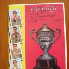 Álbum de fútbol completo: ALBUM -FACSIMIL FUTBOL CAMPEONATO 1958- 1959 . Lote 174235993