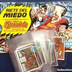 Álbum de fútbol completo: ALBUM CROPAN RIETE DEL MIEDO CON EL SABROSITO CHOCOSTEIN - COMPLETO IMPRESIONANTE ESTADO ÚNICO. Lote 174239503