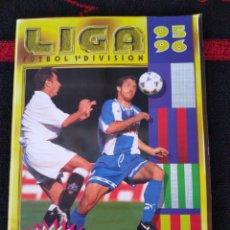 Álbum de fútbol completo: ÁLBUM DE CROMOS LIGA ESTE 95 96. Lote 174866959