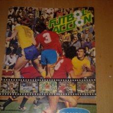 Álbum de fútbol completo: ALBUM FUTBOL EN ACCION DE DANONE 82 (COMPLETO). Lote 175055058