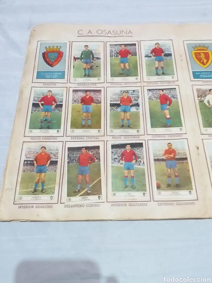 Álbum de fútbol completo: ALBUM CROMOS FUTBOL COMPLETO CAMPEONATO 1959-1960,EDICION FERCA JUGADORES PRIMERA DIVISION EN COLOR - Foto 10 - 175148739