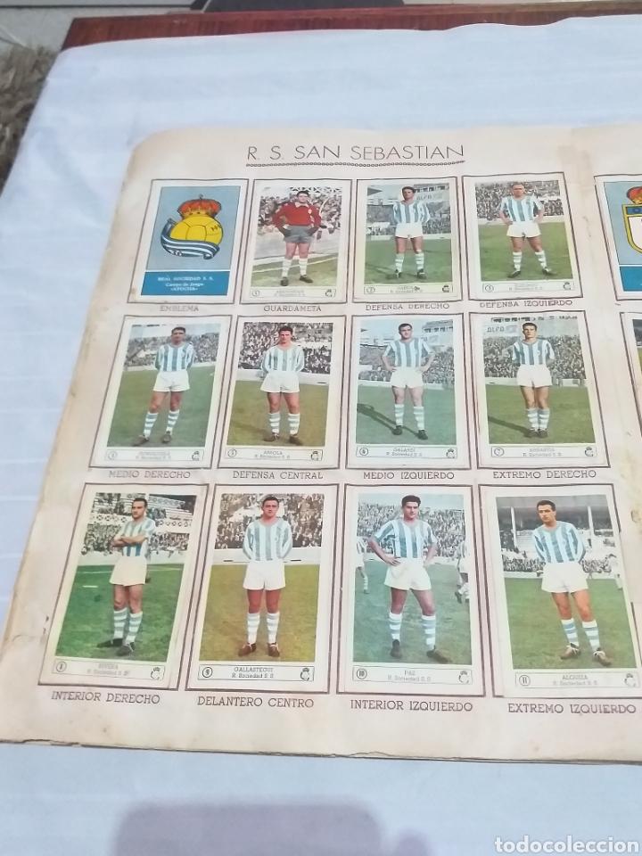Álbum de fútbol completo: ALBUM CROMOS FUTBOL COMPLETO CAMPEONATO 1959-1960,EDICION FERCA JUGADORES PRIMERA DIVISION EN COLOR - Foto 12 - 175148739