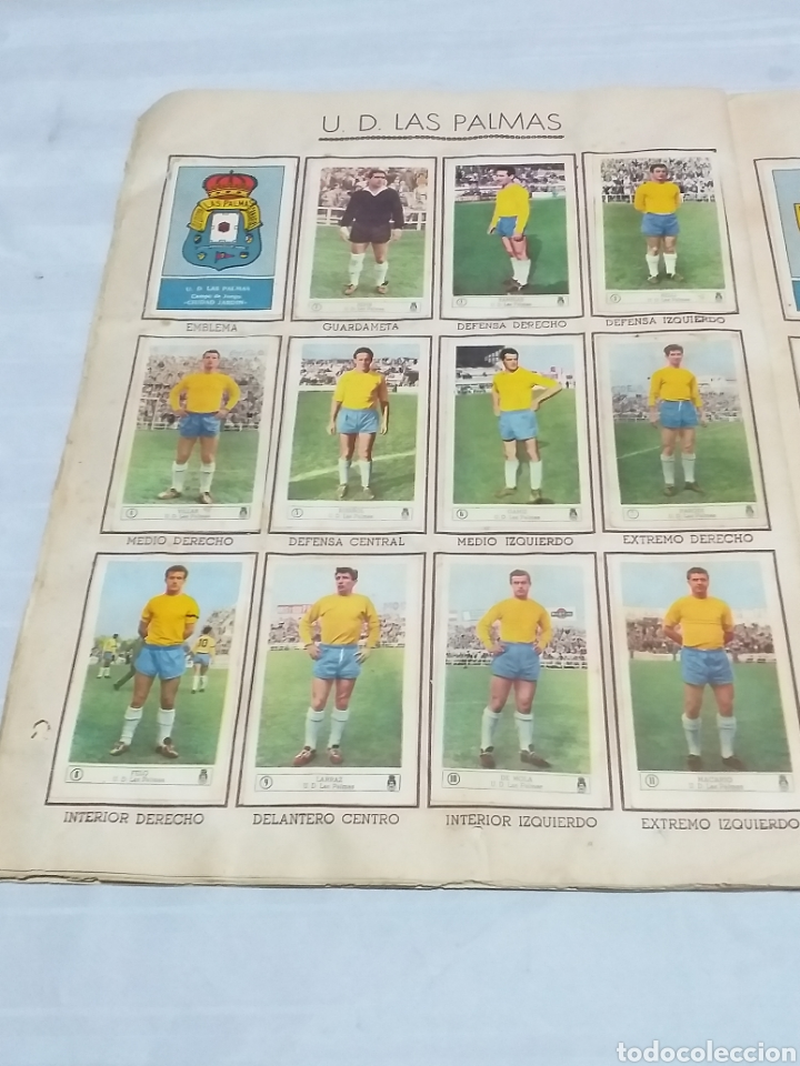 Álbum de fútbol completo: ALBUM CROMOS FUTBOL COMPLETO CAMPEONATO 1959-1960,EDICION FERCA JUGADORES PRIMERA DIVISION EN COLOR - Foto 16 - 175148739