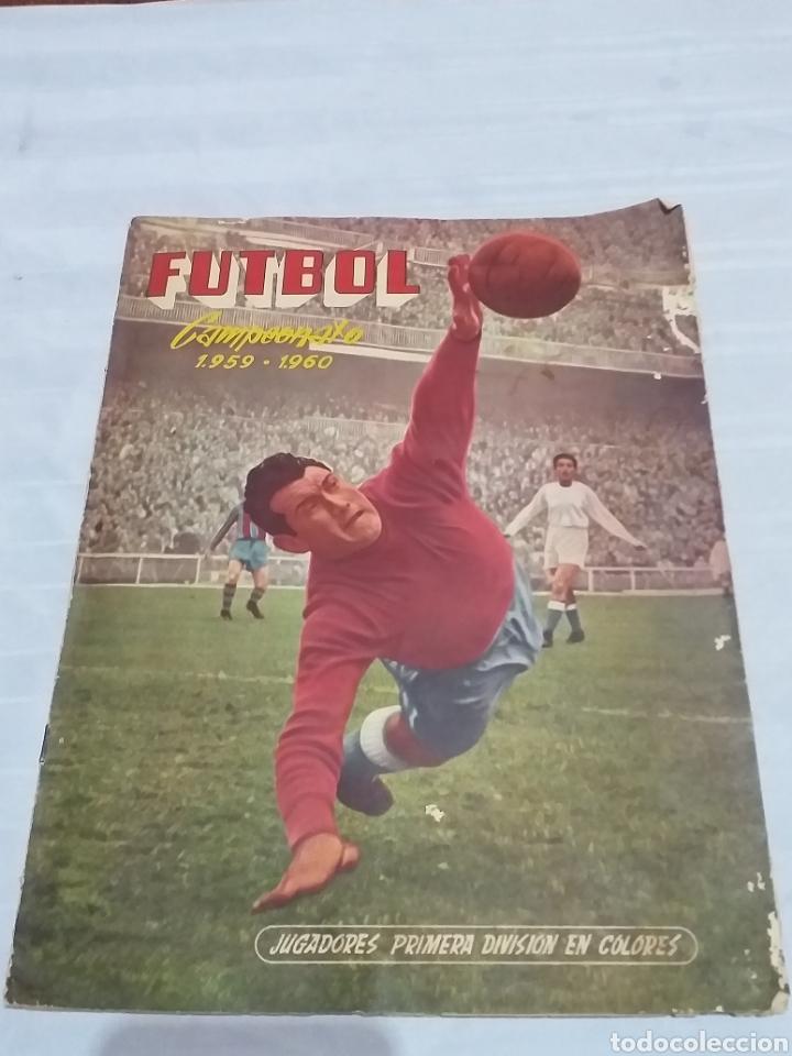 ALBUM CROMOS FUTBOL COMPLETO CAMPEONATO 1959-1960,EDICION FERCA JUGADORES PRIMERA DIVISION EN COLOR (Coleccionismo Deportivo - Álbumes y Cromos de Deportes - Álbumes de Fútbol Completos)