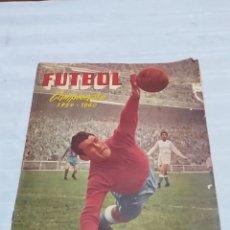 Álbum de fútbol completo: ALBUM CROMOS FUTBOL COMPLETO CAMPEONATO 1959-1960,EDICION FERCA JUGADORES PRIMERA DIVISION EN COLOR. Lote 175148739