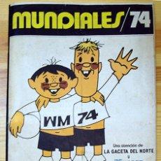 Album de football complet: ALBUM 1974 MUNDIALES MUNDIAL MUNICH 74. COMPLETO. GACETA DEL NORTE. CRUYFF MULLER. Lote 80649246