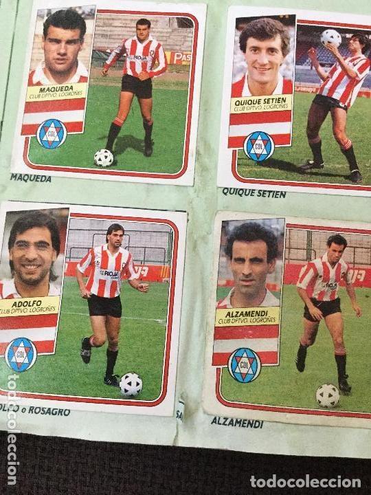 Álbum de fútbol completo: ALBUM COMPLETO. 1 CROMO POR CASILLA. LIGA 89-90. PARA ESTADO VER FOTOS. - Foto 2 - 175532670