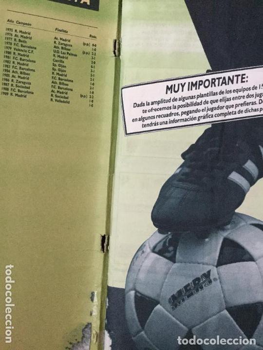 Álbum de fútbol completo: ALBUM COMPLETO. 1 CROMO POR CASILLA. LIGA 89-90. PARA ESTADO VER FOTOS. - Foto 4 - 175532670