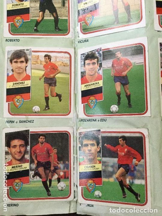 Álbum de fútbol completo: ALBUM COMPLETO. 1 CROMO POR CASILLA. LIGA 89-90. PARA ESTADO VER FOTOS. - Foto 6 - 175532670