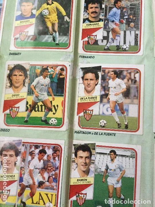 Álbum de fútbol completo: ALBUM COMPLETO. 1 CROMO POR CASILLA. LIGA 89-90. PARA ESTADO VER FOTOS. - Foto 7 - 175532670