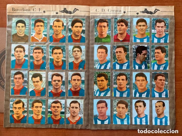 Álbum de fútbol completo: ALBUM COMPLETO - CAMPEONATO DE LIGA 1966 / 67 - ESCASO - ED. DISGRA. - Foto 2 - 175533627