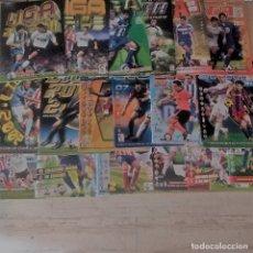 Álbum de fútbol completo: LOTE COLEC. COMPLETAS 2000/01 2018/19 + CHAMPIONS + LOTES CROMOS.LEER POR FAVOR. Lote 175538930