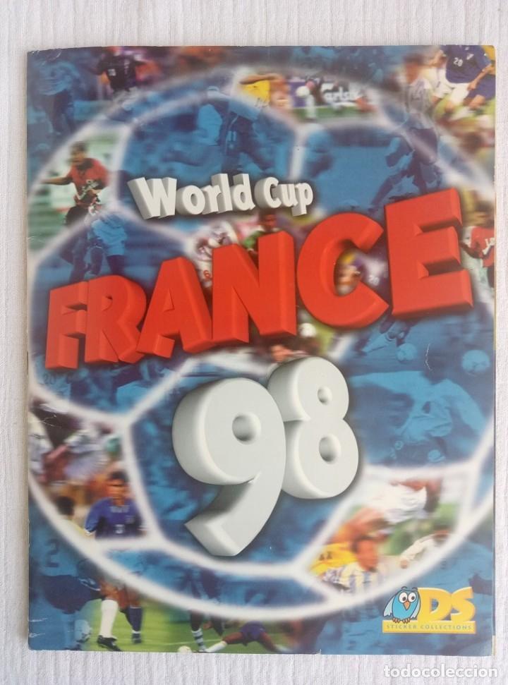 ALBUM DS. - WORLD CUP FRANCE 98 - # (Coleccionismo Deportivo - Álbumes y Cromos de Deportes - Álbumes de Fútbol Completos)