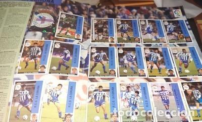 Álbum de fútbol completo: ÁLBUM LIGA 95-96, DE PANINI, COMPLETO - Foto 2 - 52010200