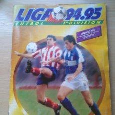 Álbum de fútbol completo: ALBUM LIGA 94 95 ESTE CON 485 CROMOS MUCHOS CROMOS DOBLES. BUEN ESTADO. AMAVISCA. Lote 175842339