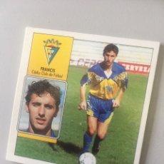 Álbum de fútbol completo: ESTE 92 93 1992 1993 DESPEGADO CÁDIZ FRANCIS. Lote 176264719