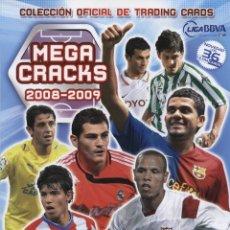 Álbum de fútbol completo: COLECCION COMPLETA MEGACRACKS 2008 2009 LIGA FUTBOL LISTADO EN FOTOGRAFIAS PANINI ESTE. Lote 176279889