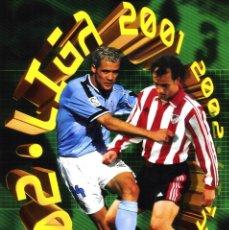 Álbum de fútbol completo: COLECCION COMPLETA EDICIONES ESTE 2001 2002 CROMOS SIN PEGAR MAS ALBUM PLANCHA . Lote 176280549