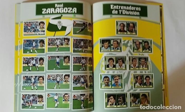 Álbum de fútbol completo: FACSIMIL CAMPEONATO NACIONAL DE LA LIGA DE 1984 1985 SALVAT COLECCIONES ESTE PANINI - Foto 3 - 153083938