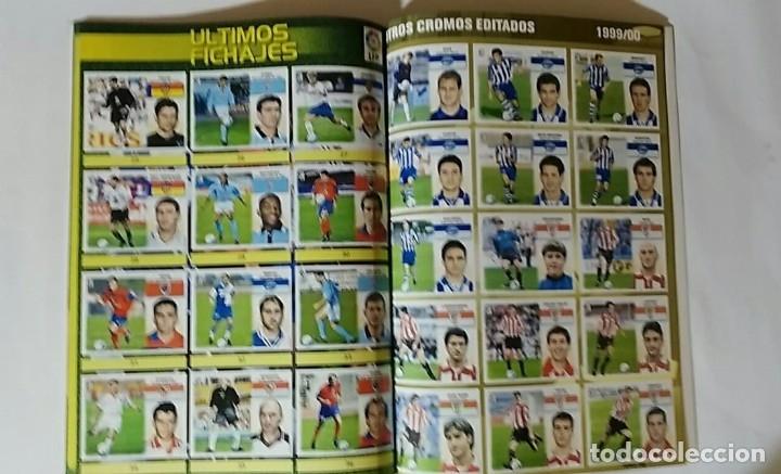 Álbum de fútbol completo: FACSIMIL CAMPEONATO NACIONAL DE LA LIGA DE 1999 2000 SALVAT COLECCIONES ESTE PANINI - Foto 5 - 153094250