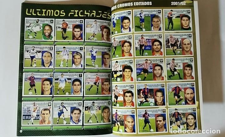 Álbum de fútbol completo: FACSIMIL CAMPEONATO NACIONAL DE LA LIGA DE 2001 2002 SALVAT COLECCIONES ESTE PANINI - Foto 4 - 153094886