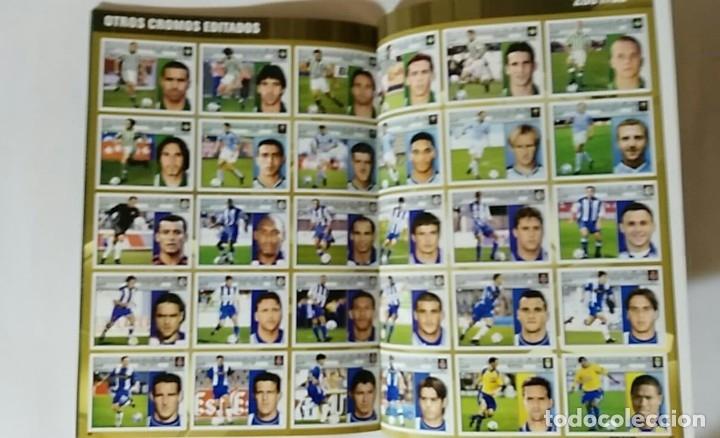 Álbum de fútbol completo: FACSIMIL CAMPEONATO NACIONAL DE LA LIGA DE 2001 2002 SALVAT COLECCIONES ESTE PANINI - Foto 7 - 153094886