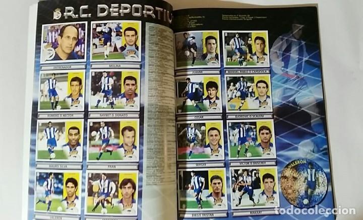 Álbum de fútbol completo: FACSIMIL CAMPEONATO NACIONAL DE LA LIGA DE 2002 2003 SALVAT COLECCIONES ESTE PANINI - Foto 2 - 153095338
