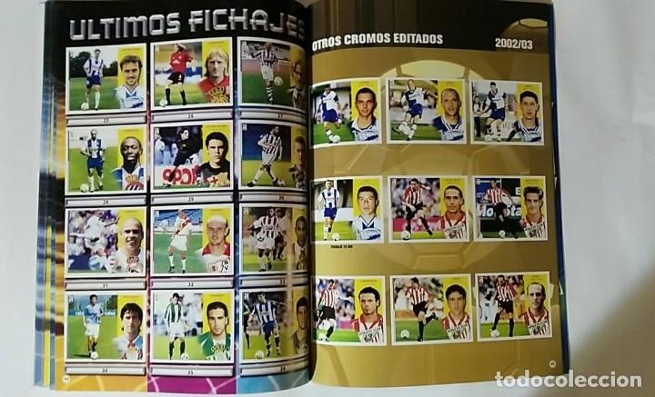 Álbum de fútbol completo: FACSIMIL CAMPEONATO NACIONAL DE LA LIGA DE 2002 2003 SALVAT COLECCIONES ESTE PANINI - Foto 4 - 153095338