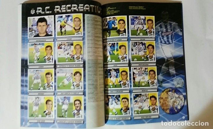 Álbum de fútbol completo: FACSIMIL CAMPEONATO NACIONAL DE LA LIGA DE 2002 2003 SALVAT COLECCIONES ESTE PANINI - Foto 8 - 153095338