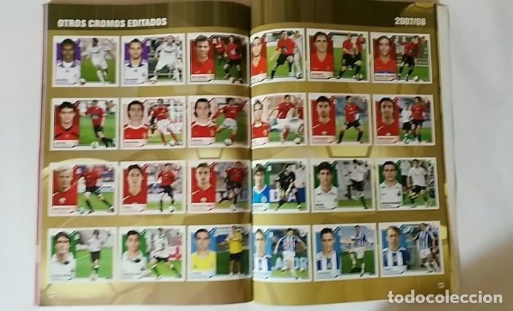 Álbum de fútbol completo: FACSIMIL CAMPEONATO NACIONAL DE LA LIGA DE 2007 2008 SALVAT COLECCIONES ESTE PANINI - Foto 4 - 153095914