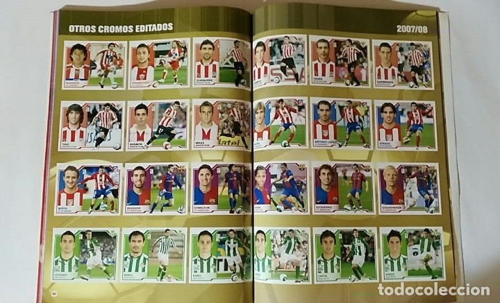 Álbum de fútbol completo: FACSIMIL CAMPEONATO NACIONAL DE LA LIGA DE 2007 2008 SALVAT COLECCIONES ESTE PANINI - Foto 5 - 153095914