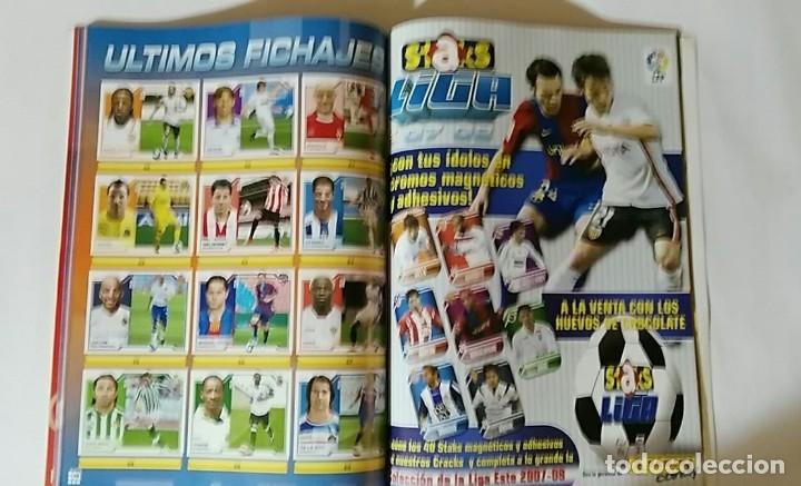 Álbum de fútbol completo: FACSIMIL CAMPEONATO NACIONAL DE LA LIGA DE 2007 2008 SALVAT COLECCIONES ESTE PANINI - Foto 9 - 153095914