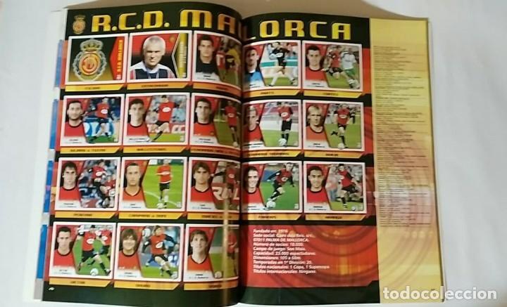 Álbum de fútbol completo: FACSIMIL CAMPEONATO NACIONAL DE LA LIGA DE 2005 2006 SALVAT COLECCIONES ESTE PANINI - Foto 6 - 153096538