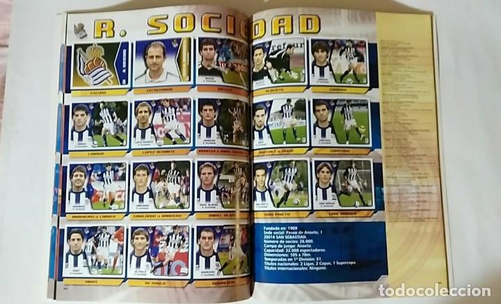 Álbum de fútbol completo: FACSIMIL CAMPEONATO NACIONAL DE LA LIGA DE 2005 2006 SALVAT COLECCIONES ESTE PANINI - Foto 9 - 153096538