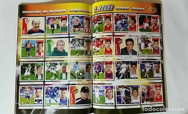 Álbum de fútbol completo: FACSIMIL CAMPEONATO NACIONAL DE LA LIGA DE 2006 2007 SALVAT COLECCIONES ESTE PANINI - Foto 8 - 153096890