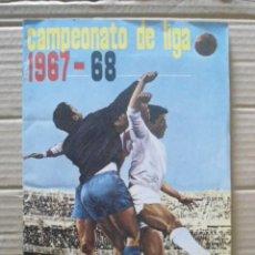 Álbum de fútbol completo: FHER ALBUM COMPLETO 1967/68 CON 13 DOBLES,EN EXCELENTE ESTADO. Lote 176355362