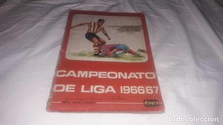 ÁLBUM DE LA LIGA 1966-67 DE FHER COMPLETO (Coleccionismo Deportivo - Álbumes y Cromos de Deportes - Álbumes de Fútbol Completos)