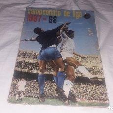 Álbum de fútbol completo: ÁLBUM DE LA LIGA 1967-68 DE FHER COMPLETO Y CON 5 DOBLES SIN PEGAR. Lote 176407287
