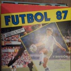 Álbum de fútbol completo: FUTBOL 87. Lote 176524908