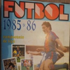 Álbum de fútbol completo: FUTBOL 1985 -86 LISEL ROJO. Lote 176525029