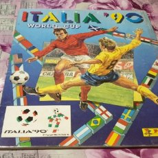 Álbum de fútbol completo: ALBUM ITALIA 90 DE PANINI COMPLETO. Lote 176855867