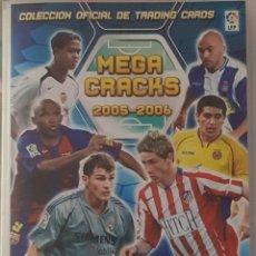 Álbum de fútbol completo: PANINI MEGACRACKS 2005-2006 CON LOS ERRORES Y LOS INDICES COLECCION COMPLETA CON TODO LO EDITADO. Lote 176864709