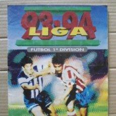 Álbum de fútbol completo: ED.ESTE 1993/94 ALBUM VACIO + 253 CROMOS NUNCA PEGADOS, LEER DESCRIPCION. Lote 176914569
